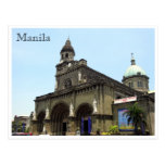 manila cathedral postcards