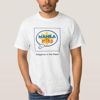 """""""Manila en camiseta blanca de mi mente"""""""