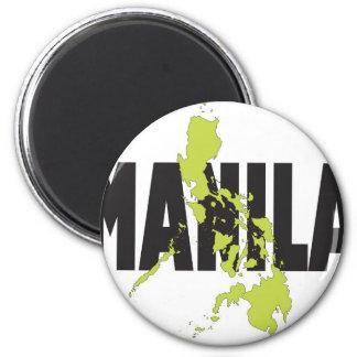 Manila, Filipinas Imán Redondo 5 Cm