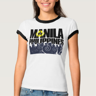 Manila-Filipinas Playera