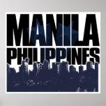 Manila FILIPINAS Póster