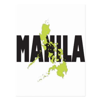 Manila, Filipinas Tarjetas Postales