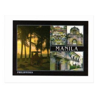 MANILA FILIPINAS TARJETA POSTAL