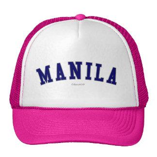 Manila Gorras