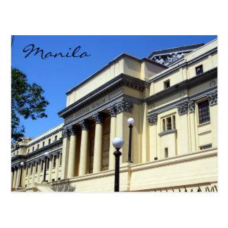 manila national museum postcard