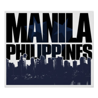 Manila PHILIPPINES Poster