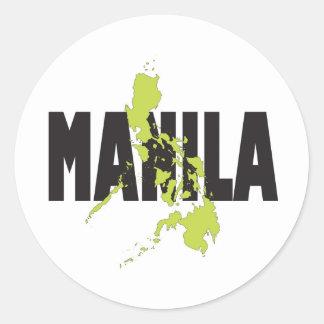 Manila, Philippines Sticker
