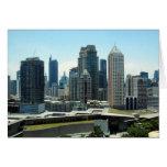 manila skyline greeting card