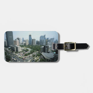 Manila Skyline Luggage Tag