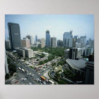 Manila Skyline Poster