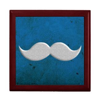 Manillar retro del bigote caja de regalo