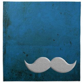Manillar retro del bigote servilletas de papel
