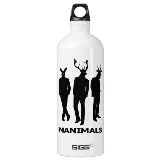 Manimals Water Bottle