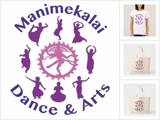 Manimekalai Dance & Arts Logo Items