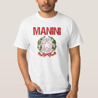 Manini Italian Surname T-Shirt