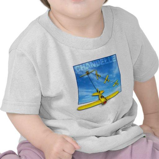 Maniobra aeroacrobacia del Chandelle con el aeropl Camisetas