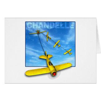 Maniobra aeroacrobacia del Chandelle con el aeropl Tarjetón
