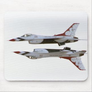 Maniobra de los Thunderbirds - espejo Alfombrilla De Ratones