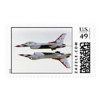 Maniobra de los Thunderbirds - espejo Franqueo