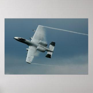 Maniobras de la velocidad A-10 Poster