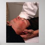 Manipulación de la quiropráctica poster
