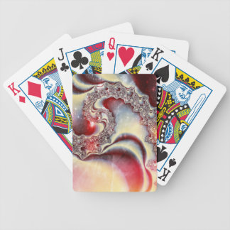 Manipulated Fractal in Space Playing Cards