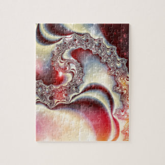 Manipulated Fractal in Space Jigsaw Puzzle