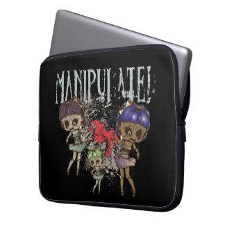 Manipulated Laptop Sleeve
