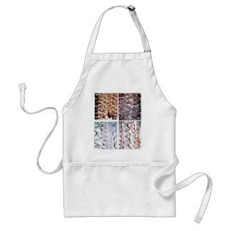 Manipulated Paper origami Folds Adult Apron