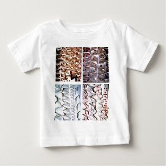 Manipulated Paper origami Folds Baby T-Shirt
