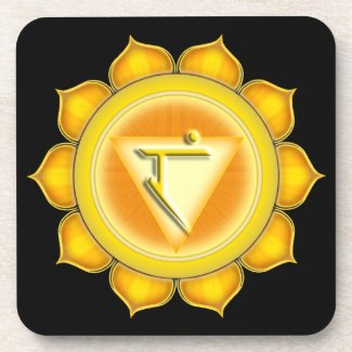 Manipura or Solar Plexus the 3rd Chakra Coaster
