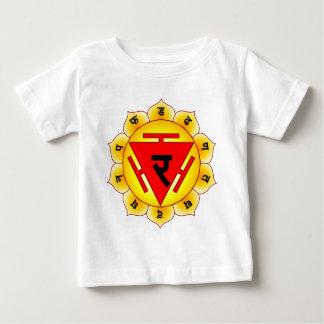 Manipura The Solar Plexus Chakra Baby T-Shirt