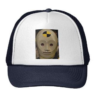 Maniquí de la prueba del desplome gorras