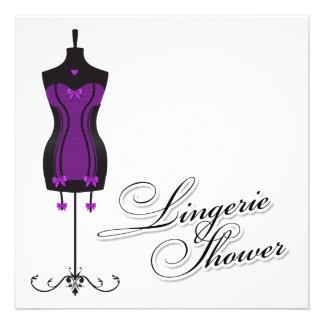 maniquí de la ropa interior 311-Purple Invitacion Personal