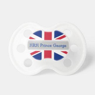 Maniquí real de príncipe George del bebé Chupetes De Bebe