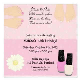 Manis & Pedis Invitation