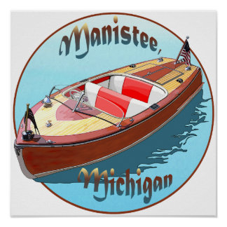 Manistee, Michigan Poster