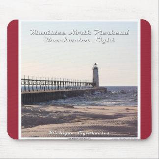 Manistee North Pierhead Breakwater Light Mouse Pad