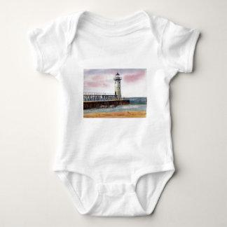 Manistee North Pierhead Light Infant Tee Shirt