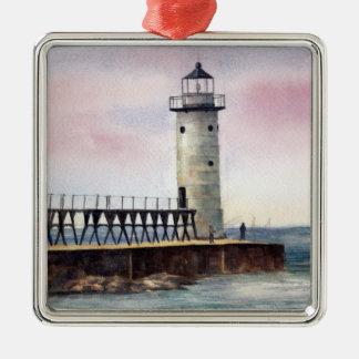 Manistee North Pierhead Lighthouse Ornament