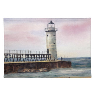Manistee North Pierhead Lighthouse Placemat