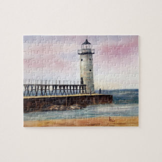 Manistee North Pierhead Lighthouse Puzzle