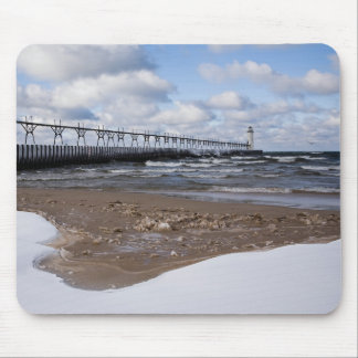 Manistee Pierhead Lighthouse Mouse Pad