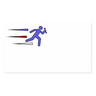 Manitas expresa - Corporate Logo genérico Tarjetas De Visita