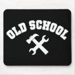 Manitas Mousepad de la escuela vieja Alfombrillas De Ratones