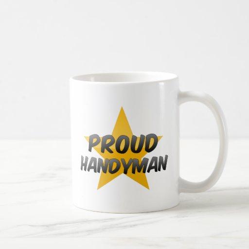 Manitas orgullosa taza de café