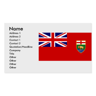 Manitoba, Canada Business Cards