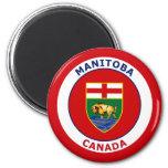 MANITOBA CANADA REFRIGERATOR MAGNETS