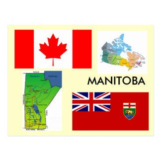 Manitoba, Canadá Tarjeta Postal