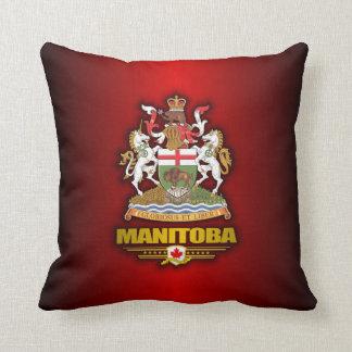 Manitoba COA Throw Pillow